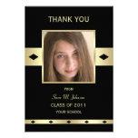 Thank You Card Graduation -- Flat Invitation Card Custom Invitation
