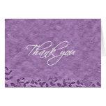 Thank you card - Grape Vines