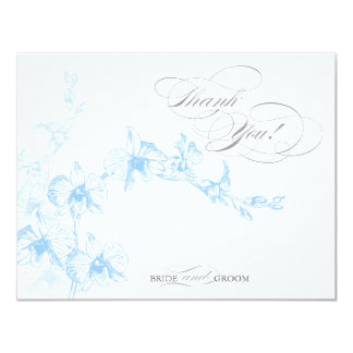 Thank You! Card Personalized Invitation