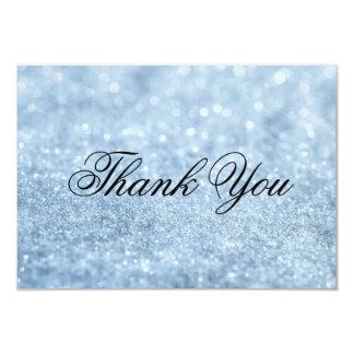 Thank You Card - LitBlue Glit Fab
