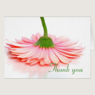 Thank You card made for the Breast Cancer Survivor