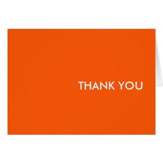 "Thank you card--""orang-a-tang"" card"
