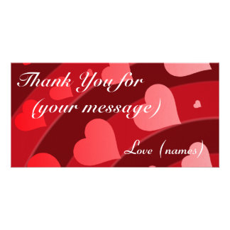Thank You Card Pack of 10 - Rainbow of Hearts