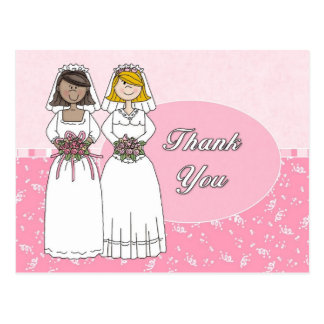 Thank You Card Pink 3
