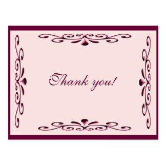 Thank You Card Postcard