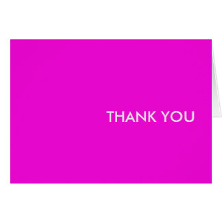 """Thank you card--""""purple people pleaser"""" card"""