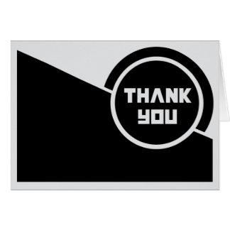 Thank You Card - Russian Constructivism Design