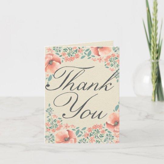 Vintage Baby Shower Thank You Cards: Vintage Storybook Baby Shower