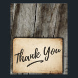 """Thank You card -  vintage, wood background, rustic<br><div class=""""desc"""">Thank You card -  vintage,  wood background,  rustic</div>"""