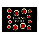 Thank You Card With Large & Small Double Circles