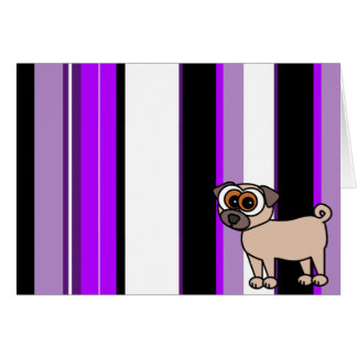 Thank You Card with Pug