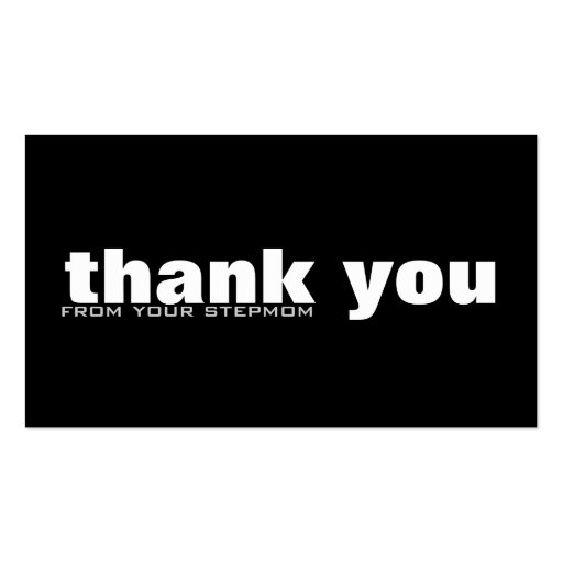thank you cards business card templates zazzle