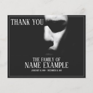 Thank You Cards for Funeral and Bereavements