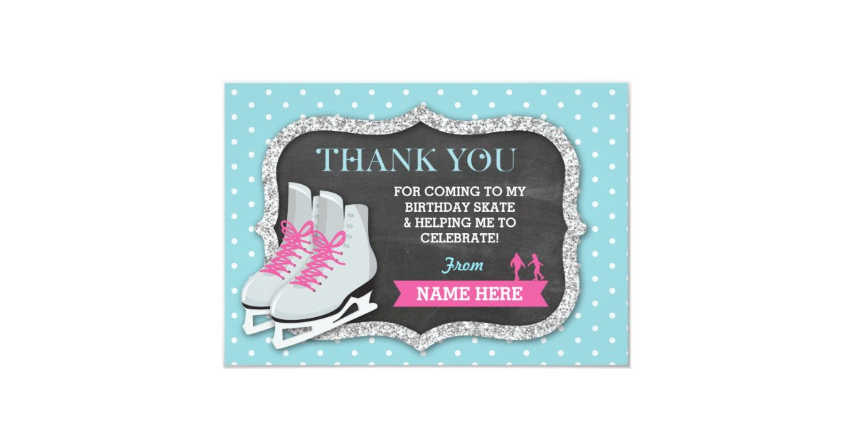 Ice Skating Party Invitations & Announcements | Zazzle