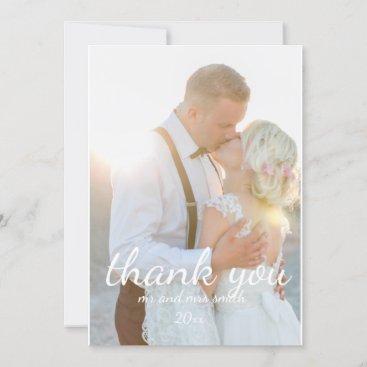 thank you cards, wedding thank you