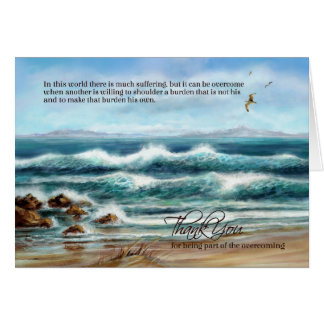 Thank You Caregiver on Doctors' Day or Nurses Day Card