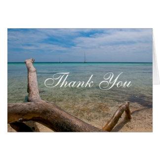 Thank You Caribbean Photo Card