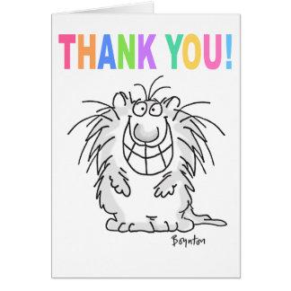 THANK YOU CAT Boynton Cards