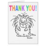 THANK YOU CAT Boynton Greeting Card