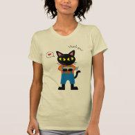 Thank You Cat Tee Shirt