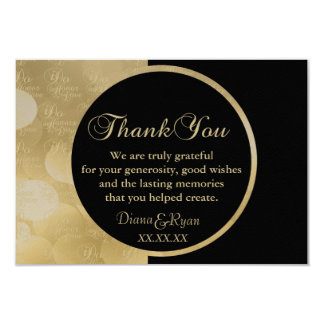 Thank you Champagne Cards