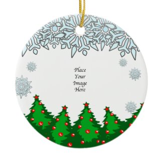 Thank You! Christmas Trees Ornament ornament