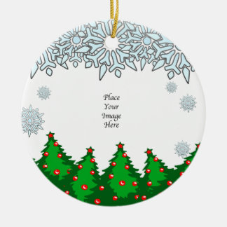 Thank You! Christmas Trees Ornament