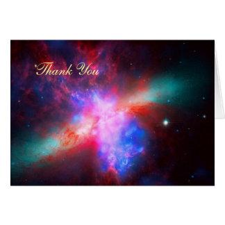 Thank You - Cigar Galaxy, Messier 8 Card