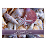 Thank You Clam Shells Card