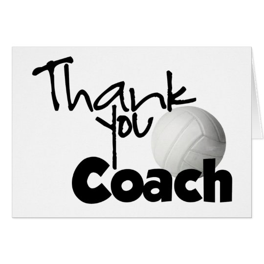 volleyball thank you cards
