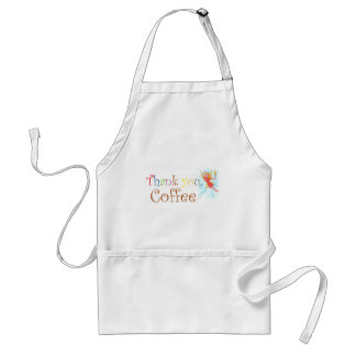 Thank You, Coffee Adult Apron