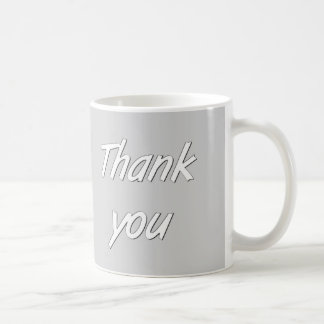 Thank you coffee mug