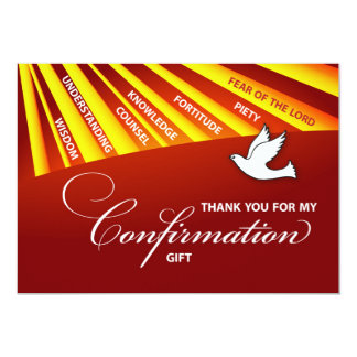 Thank You, Confirmation Personalize, Cust Card