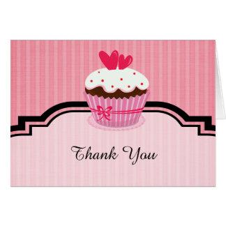Thank you Cupcake theme Card