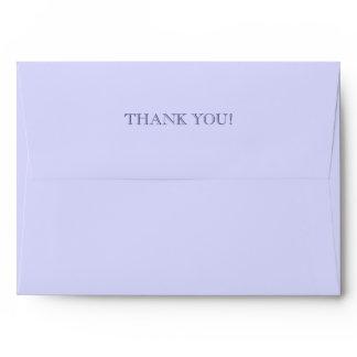 Thank You Custom Envelopes