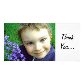 Thank You Custom Photo Card