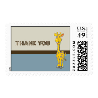 Thank You Cute Baby Shower Animal Theme Postage