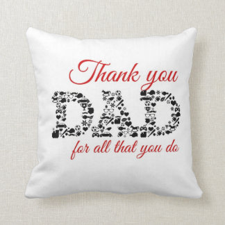 Thank you Dad for all that you do Almohadas
