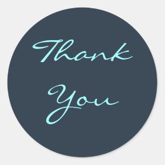 Thank You Davy's Gray Sticker