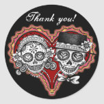 Thank You Day of the Dead Stickers