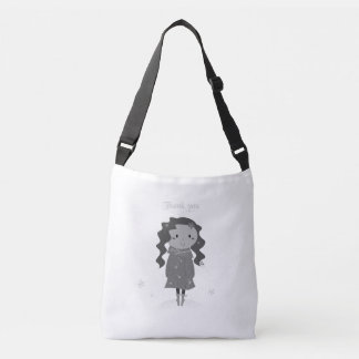 """""""Thank you"""" designers tote bag"""
