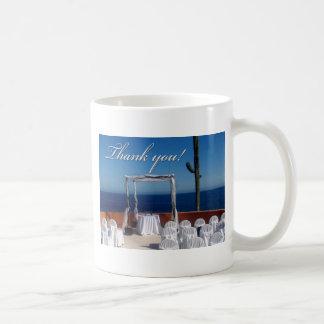 Thank you destination wedding design coffee mug