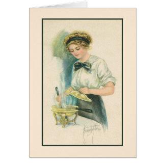 Thank You: Dinner Hostess Card