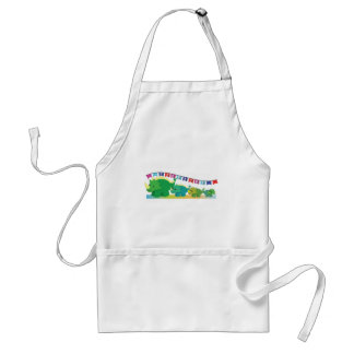 THANK you Dinosaurs cute! Adult Apron