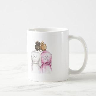 Thank You Dk Br Bun Bride Dk Bl Friend Matron Coffee Mug