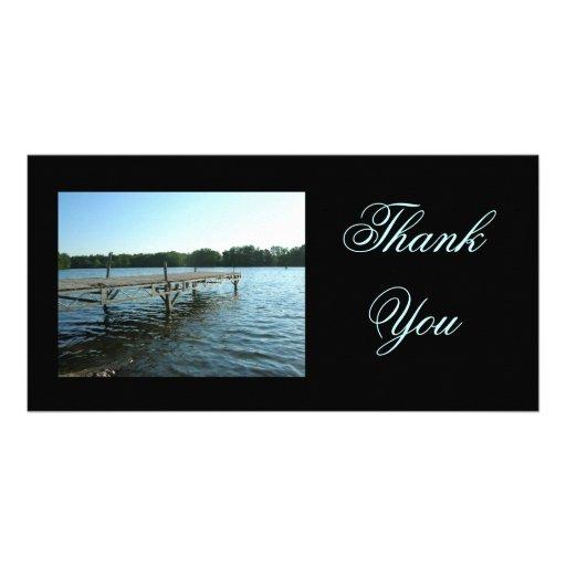 Thank You Dock Photocard Customized Photo Card