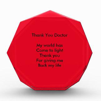 Thank you doctor award