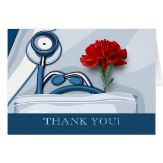 Thank You. Doctors' Day Customizable Cards Greeting Card