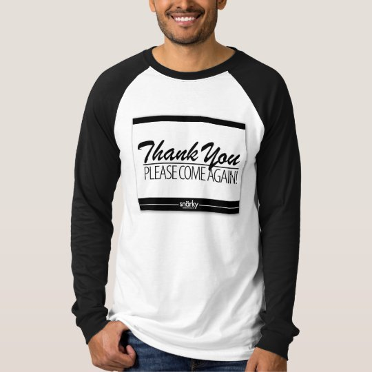 Thank You Doormat Please Come Again Mens Tee