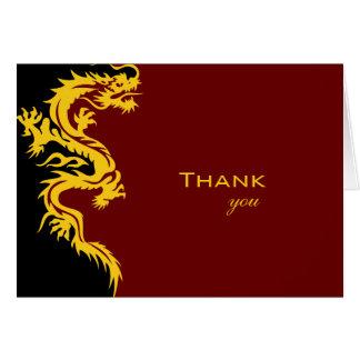 Thank you Dragon Card